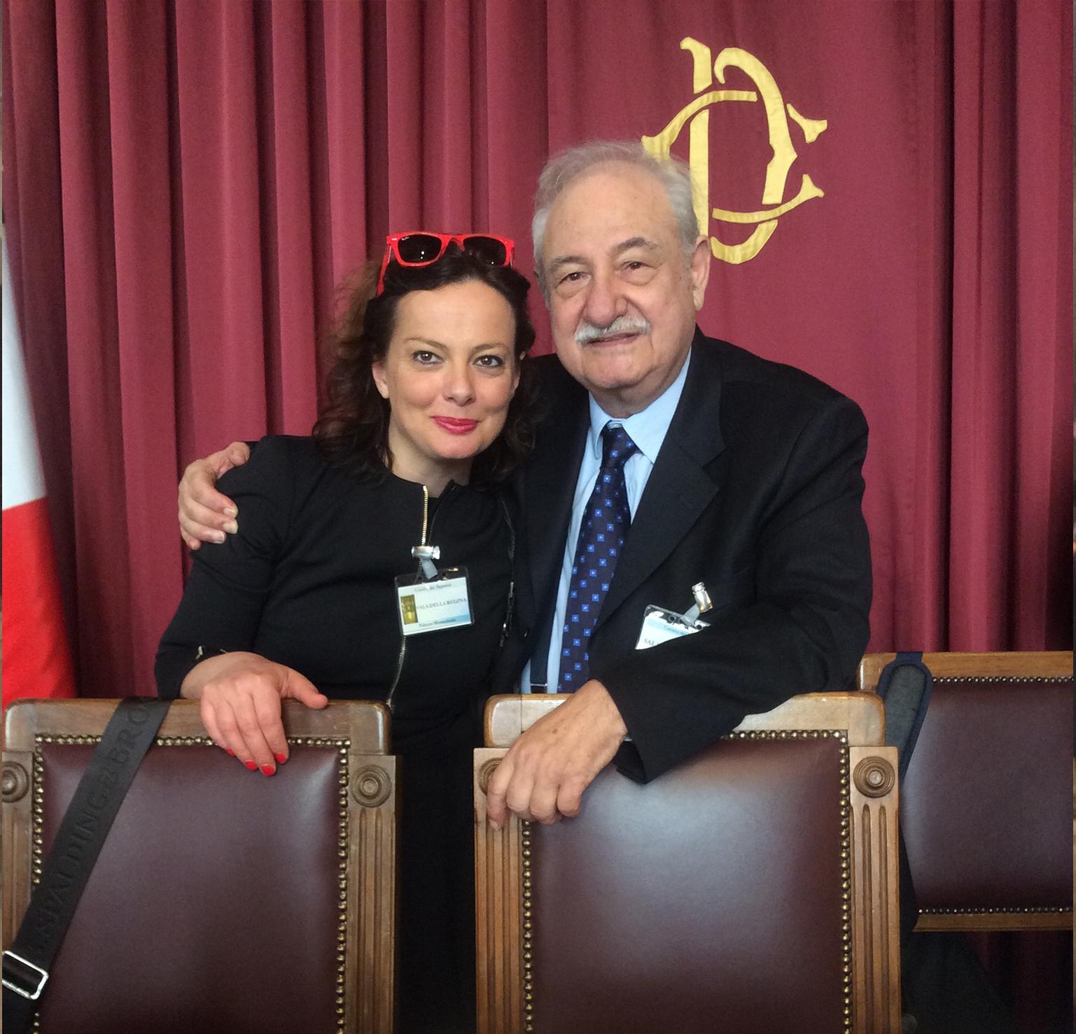 Foto con Gianfranco Soldera