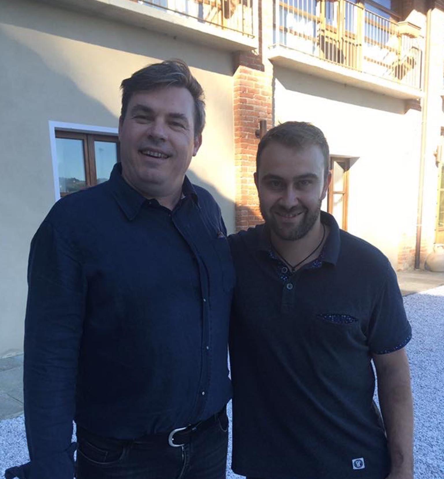 Foto con Roagna